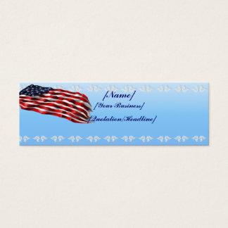 Bold Flagprofilecard_skinny_horizontal, Mini Business Card