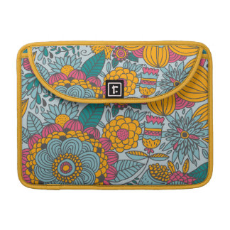 Bold Floral and Vines MacBook Pro Sleeves