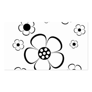 Bold Flowers Business Card