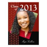 Bold Fresh Class of 2013 Grad Photo Party Custom Invite