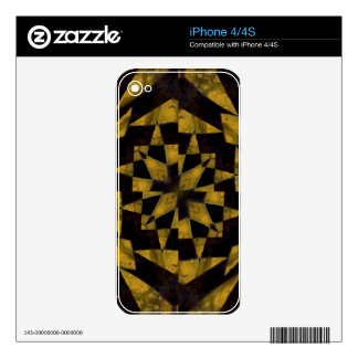 Bold Geometric Decals For The iPhone 4S