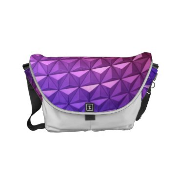 Professional Business Bold Geometric Pattern for a Bold Woman Small Messenger Bag