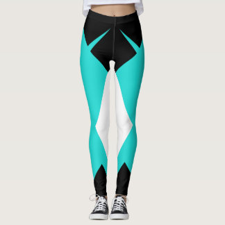 Bold Geometric Sport Pants Sporty Fashion Style