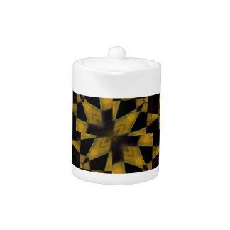 Bold Geometric Teapot