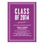 Bold Graduation Invitation