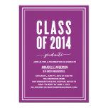 "Bold Graduation Invitation 5"" X 7"" Invitation Card"
