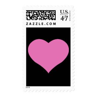bold graphic valentine postage