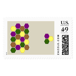Bold Hexagons Stamps