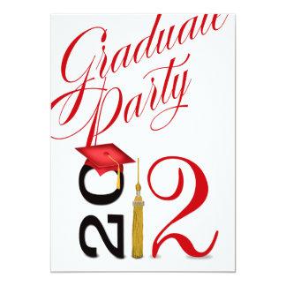 Bold, Hip, Fun 2012 Graduation Party Card