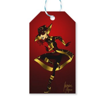 jasmineflynn Bold In Red and Gold Gift Tags