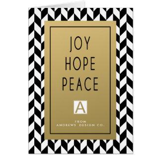 Bold Joy Corporate Holiday Greeting Card