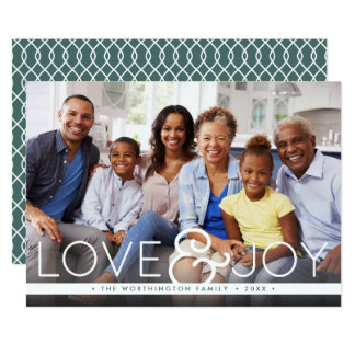 Bold Joy | Holiday Photo Card