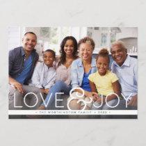 Bold Joy | Holiday Photo Card