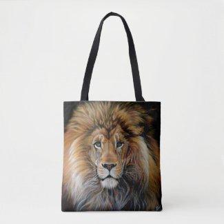 BOLD LION All Over Print Bag