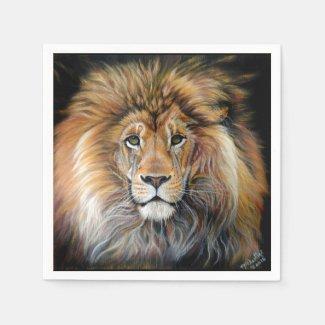 BOLD LION Paper Napkins