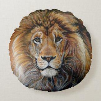 Bold Lion Pillow
