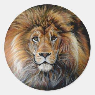 BOLD LION Sticker