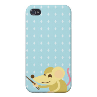 Bold little mouse i case for iPhone 4