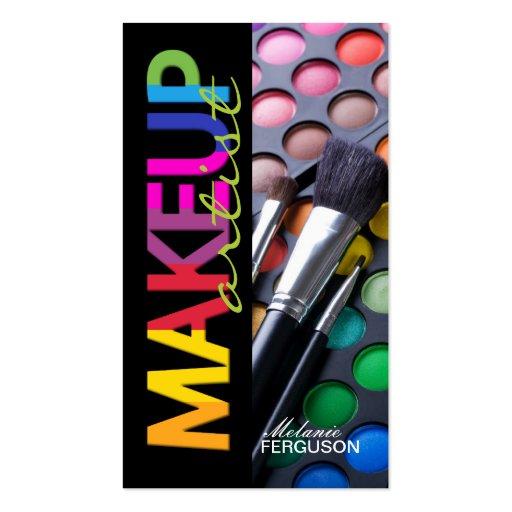 BOLD MAKEUP ARTIST BUSINESS CARD