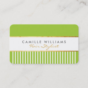 Lime green business cards zazzle bold modern stylish comb design gold lime green business card reheart Gallery