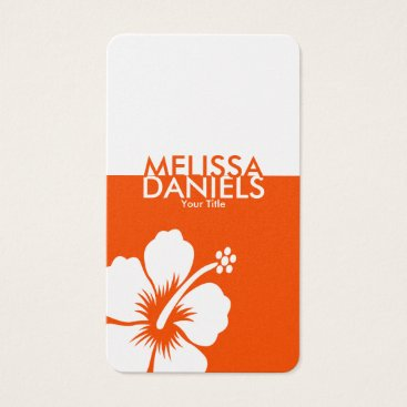 Professional Business Bold Modern Tropical Business Cards