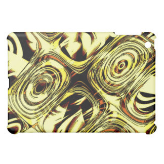 Bold Move - Yellow and Black Abstract Case For The iPad Mini