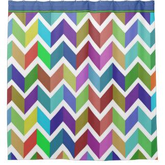 Bright Colored Striped Shower Curtain Curtain Menzilperde Net