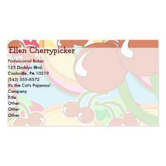 Bold 'N Fruity Double-Sided Standard Business Cards (Pack Of 100)