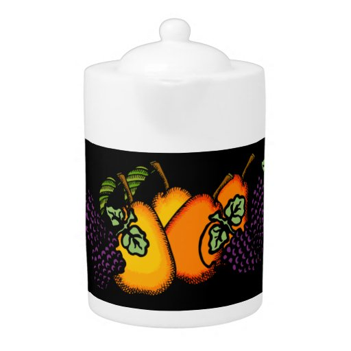 Bold n Fruity (Grapes/Pears)Teapot