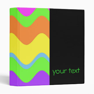 Bold Neon Wave Binder