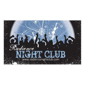 Bold Night Club Business Card Grunge Mosh Pit