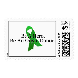 Bold Organ Donor Stamp