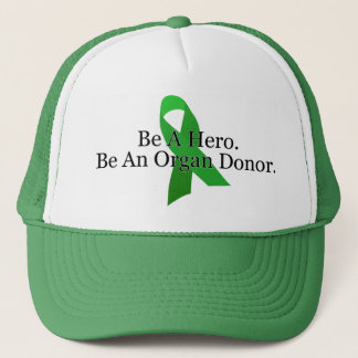 Bold Organ Donor Trucker Hat