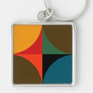 Bold Patterned Keychain