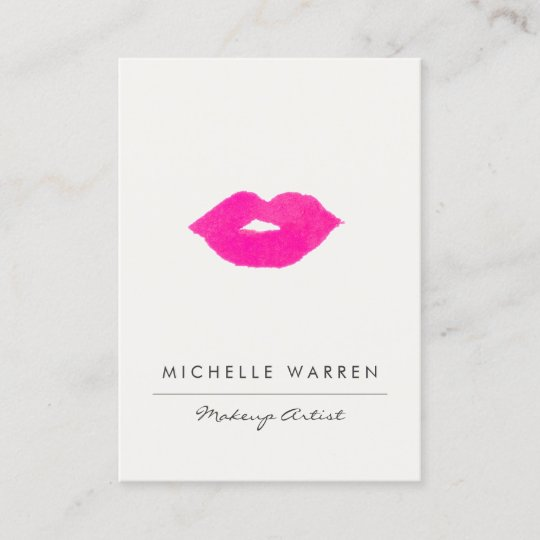 Zazzle makeup artist business cards best business 2018 makeup artist modern script y fl wring business card reheart Image collections