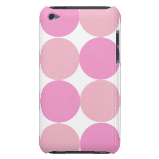 Bold Pink Polka Dot iPhone 4 Speck Case iPod Case-Mate Cases