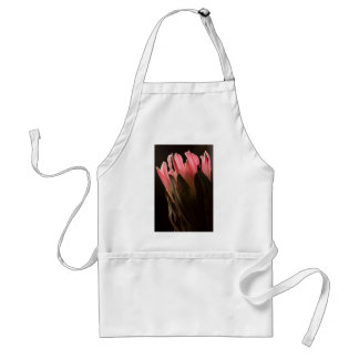Bold Pink Tropical Protea Flower Adult Apron