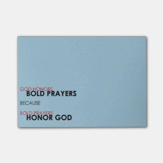 Bold Prayers Post-it® Notes