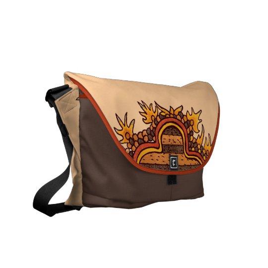 Bold Pre-Columbian Graphic Messenger Bag