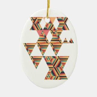 Bold Prints Ceramic Ornament