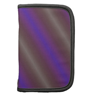 Bold Purple and Gray Diagonal Stripes Organizer