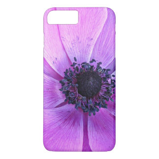 Bold Purple Anemone Floral iPhone 7 Plus Case