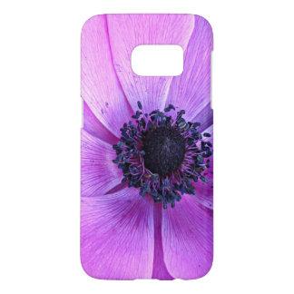 Bold Purple Anemone Floral Samsung Galaxy s7 Case