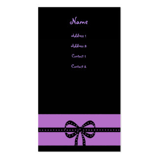 bold purple Double-Sided standard business cards (Pack of 100)