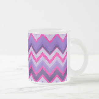 Bold Purple Pink Tribal Chevron Purple Girly Gifts Coffee Mug