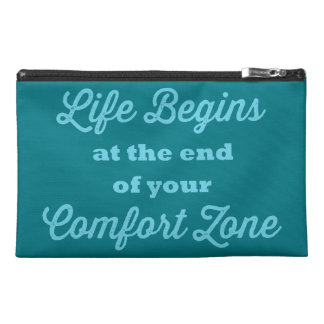 Bold Quote Travel Accessory Bag