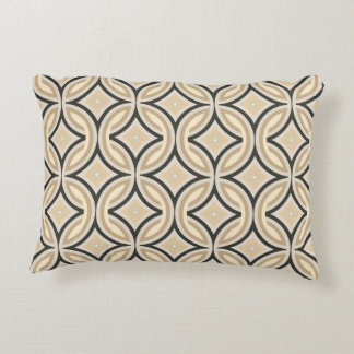 Bold Retro Pattern Reversible Accent Pillow