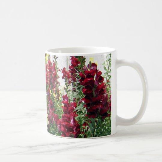 Bold Rocket Snapdragons Coffee Mug