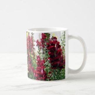 Bold Rocket Snapdragons Classic White Coffee Mug