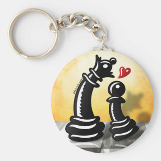 Bold Romantic Proposal for a Queen Keychain